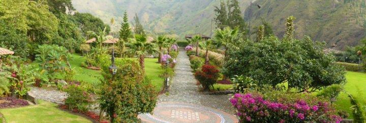 Ferien Ecuador - Garten Samari Spa