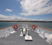 Galapagos Kreuzfahrt Yacht Beluga - Bug