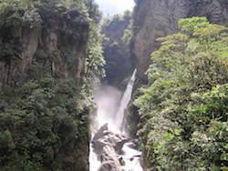 "Ecuador Rundreise - Pastazaschlucht ""Pailon del Diablo"""
