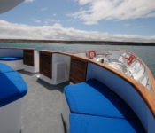 Galapagos Kreuzfahrt Yacht Beluga - Sonnendeck