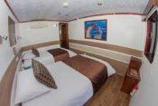 Galapagos Kreuzfahrt Yacht San José - Zweibettkabine