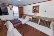 Galapagos Kreuzfahrt Yacht San José - Dreierkabine