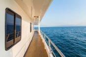 Galapagos Kreuzfahrt Yacht San José - Oberdeck