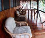 Siona Lodge - Terasse