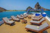 Galapagos Kreuzfahrt Yacht San José - Sonnendeck