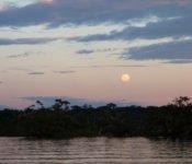 Siona Lodge - Sonnenuntergang