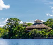 Selva Lodge Ecuador - vom See aus