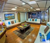 Galapagos Katamaran Archipell I - Lounge