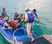 Galapagos Katamaran Archipell II - Inselausflug mit dem Zodiak