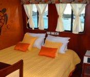 Doppelbettkabine Anahi Galapagos Kreuzfahrtschiff