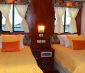 Zweibettkabine Anahi Galapagos Kreuzfahrtschiff