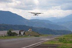 Anflug im Urwald zur Huaorani Ecolodge