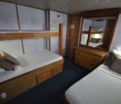 Galapagos Kreuzfahrt Yacht Beluga - Kabine 1