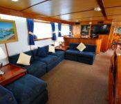 Galapagos Kreuzfahrt Yacht Beluga - Salon