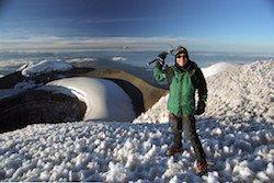 Gipfel Cotopaxi