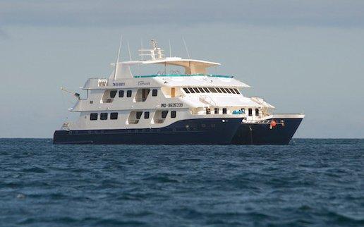 Luxuriöser Kreuzfahrt Katamaran Galapagos - Cormorant