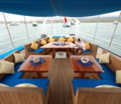 Galapagos Segelyacht Mary Anne - Deck