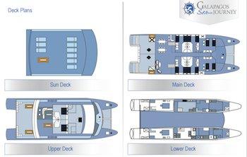 Deckplan Galapagos Seaman Journey