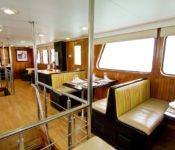 Galapagos Kreuzfahrt Yacht Tip Top III - Essraum