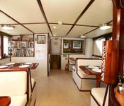Galapagos Kreuzfahrt Yacht Floreana - Speisesaal