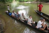 Huaorani Ecolodge - Kanufahrt