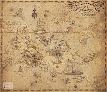 Galapagos Kreuzfahrt Routen - Galapagos Segelschiff Mary Anne