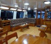 Galapagos Kreuzfahrt Yacht Angelito - Lounge