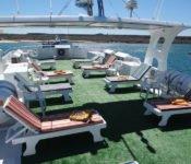 Galapagos Kreuzfahrt Yacht Angelito - Sonnendeck
