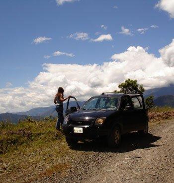 Mietwagenreise Ecuador