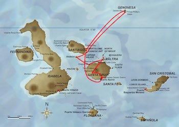 Galapagos Kreuzfahrt Route B - Galapagos Odyssey