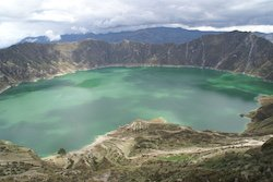 Rundreise Klassisches Ecuador - Lagune Quilotoa