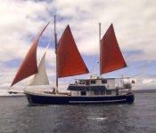 Galapagos Segelyacht Samba