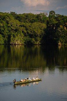 Amazonas Ecuadors - Kanufahrten