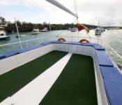 Galapagos Kreuzfahrt Yacht Golondrina - Sonnendeck