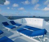 Galapagos Kreuzfahrt Yacht Tip Top III - Sonnendeck