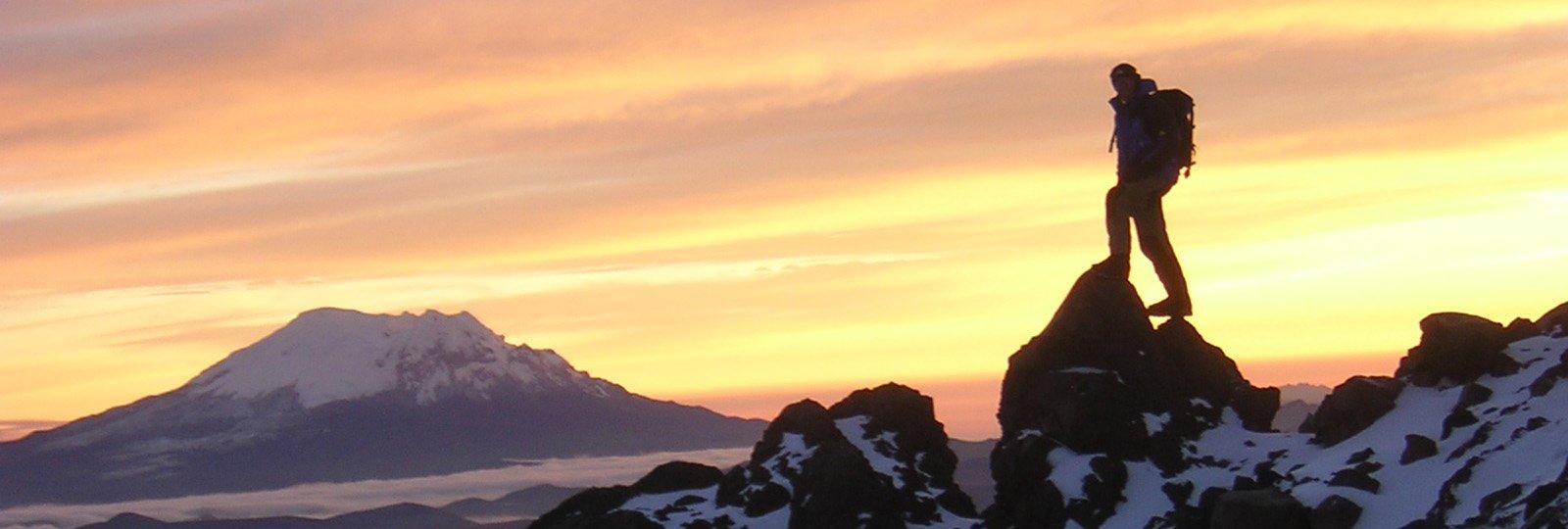 Trekking und Bergsteigen in Ecuador