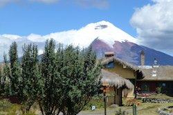 Chilcabamba mit Cotopaxi