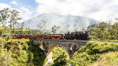Zug Tagestouren Ecuador