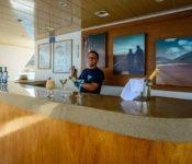 Galapagos Seaman Journey - Bar an Deck der Galapagos Kreuzfahrt