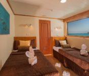 Galapagos Kreuzfahrt Yacht Galaxy - Maindeck-Kabine