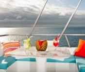 Galapagos Kreuzfahrt Yacht Galaxy - Sonnendeck