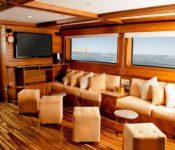 Galapagos Kreuzfahrt Yacht Galaxy - Lounge