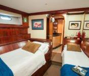 Tauchkreuzfahrt Yacht Galapagos Sky - Zweibettkabine