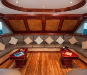 Tauchkreuzfahrt Yacht Galapagos Sky - Lounge