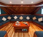 Galapagos Kreuzfahrt Yacht Letty - Lounge