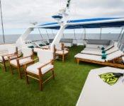 Galapagos Kreuzfahrt Yacht Letty - Sonnendeck