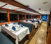 Galapagos Kreuzfahrt Yacht Letty - Restaurant