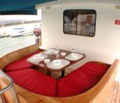 Galapagos Segelyacht Samba - Deck