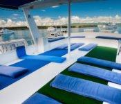 Galapagos Kreuzfahrtyacht Fragata - Sonnendeck