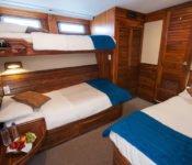 Galapagos Kreuzfahrt Yacht Eric - Dreierkabine